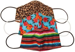 Western Print Mask (Multipack) Knit Hats