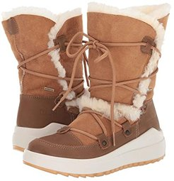 Tacoma Waterproof (Tan Leather/Shearling) Women's Cold Weather Boots