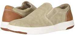 Nobel Smart Series Slip-On Sneaker with Smart 360 Flex and NeverWet (Sand Washed Canvas) Men's Slip on  Shoes
