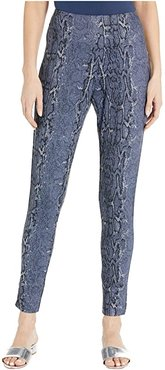Pull-On Ankle Skinny in Stretch Knit (Snake) Women's Dress Pants