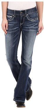 R.E.A.L. Boot Cut Entwined (Marine) Women's Jeans