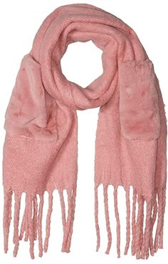 Removable Pocket Scarf (Blush) Scarves