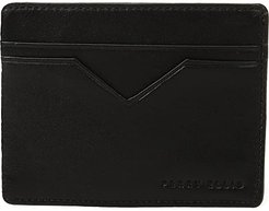 Slim PE Card Case (Black) Credit card Wallet