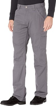 FR M5 Slim Duralight Stretch Canvas Straight Leg Pants (Iron Grey) Men's Clothing