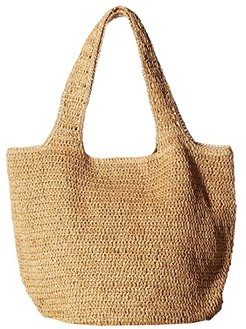 Straw Carryall (Toast) Bags