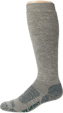 Reliable Boot Sock (Gray) Men's Crew Cut Socks Shoes