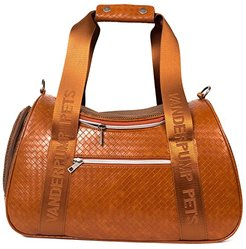 Graphite Duffle Pet Carrier (Brown) Dog Accessories