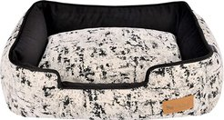 24 x 19 x 7 Lounge Bed - Celestial (Night Sky Black) Dog Accessories