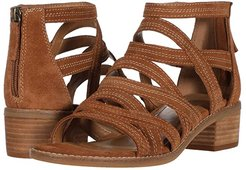 Betha (Luggage Cow Suede) Women's Sandals