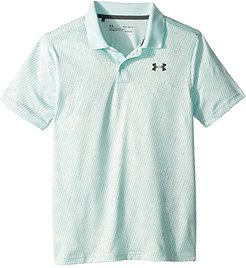 Performance Polo 2.0 Novelty (Big Kids) (Fuse Teal/Fuse Teal/Pitch Gray) Boy's Short Sleeve Pullover