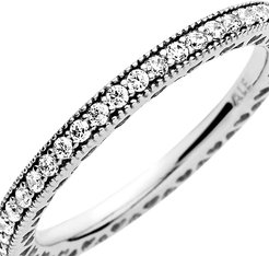 Signature Hearts of Pandora CZ Ring (Clear) Ring
