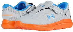 Surge 2 (Toddler) (Mod Gray/Orange Spark/Water) Boys Shoes