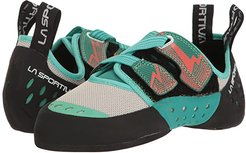 Oxygym (Mint/Coral) Women's Climbing Shoes