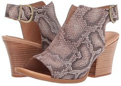 Moraine (Brown Snake Print) High Heels
