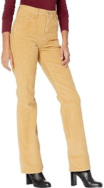 Ribcage Boot Non Denim (Iced Coffee) Women's Jeans