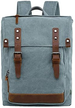 Discovery Canvas Backpack (Teal) Backpack Bags