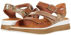 Meggie - 86444 (Oak/Kombi) Women's  Shoes