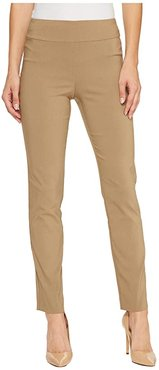 Pull-On Ankle Pants (Taupe) Women's Dress Pants