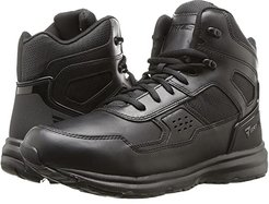 Raide Mid Leather Sport Tactical (Black) Men's Work Boots