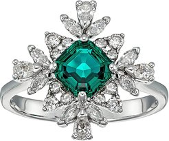 Emerald Palace Ring (CZ White) Ring