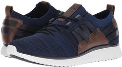 Grand Motion Woven Stitchlite (Navy Ink/Peony Knit/British Tan/Optic White) Men's Shoes