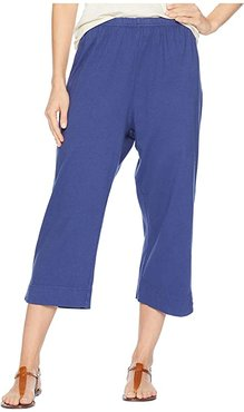 Jersey Capri Pants (Moonlight Blue) Women's Capri