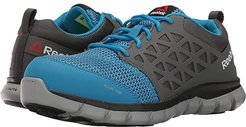 Sublite Cushion Work Alloy Toe SD (Blue/Grey) Women's Work Boots