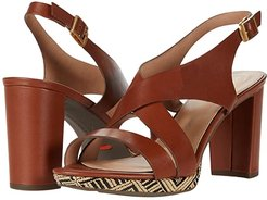 Total Motion Ivy Cross Sling (Toffee Tan) Women's Shoes