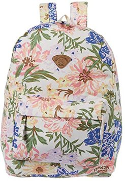 Schools Out Backpack (White/Multi) Backpack Bags