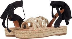 Adele Knot Espadrille (Natural) Women's Shoes
