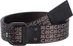 Reversible Adjustable Belt (Black) Men's Belts