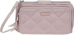 Performance Twill RFID Deluxe All Together Crossbody (Dover Mauve) Bags