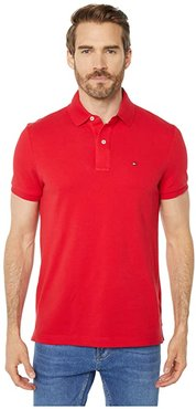 Custom Fit Ivy Polo Shirt (Apple Red) Men's Clothing