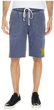 Michigan Wolverines Victory Shorts (Dark Navy) Men's Shorts
