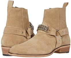 Russel Chain Boot (Stone Suede) Men's Boots