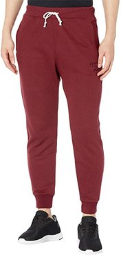 Training Essentials Melange Pants (Maroon) Men's Casual Pants