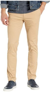 Stretch Slim Fit Chino Pants (Viennese) Men's Clothing