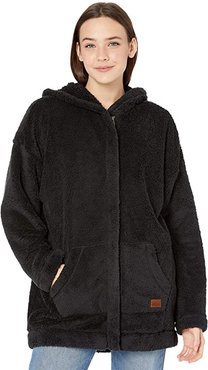 Light Of The Night Sherpa Jacket (Anthracite) Women's Clothing
