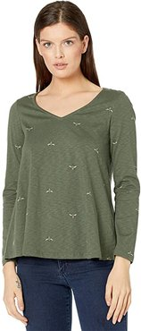 Harbour Light Swing Print (Green Bees) Women's Clothing