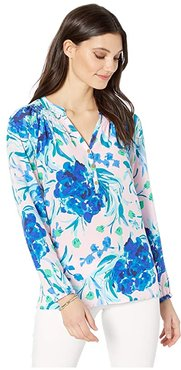 Elsa Top (Pink Tropics Tint Sweet Pea) Women's Blouse