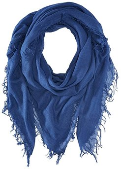 Cashmere and Silk Scarf (Medieval Blue) Scarves