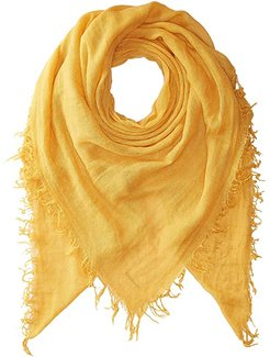 Cashmere and Silk Scarf (Honey Gold) Scarves
