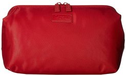 Plume Accessories Toilet Kit (Cherry Red) Cosmetic Case