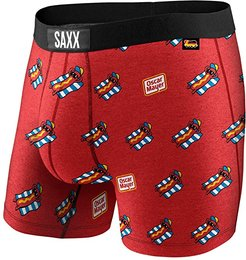Vibe Boxer Modern Fit (Red Chill-e Dog) Men's Underwear