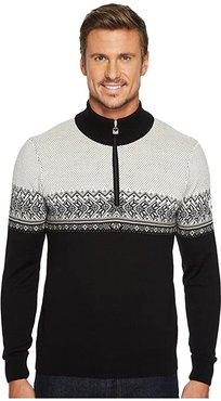 Hovden Sweater (F-Black/Light Charcoal/Smoke/Beige/Off-White) Men's Sweater