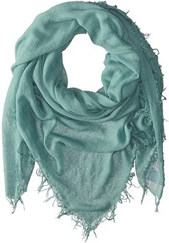 Cashmere and Silk Scarf (Mineral Blue) Scarves