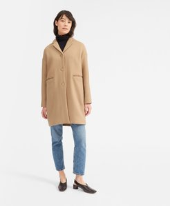 Cocoon Coat by Everlane in Camel, Size 8