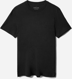 Performance Pique Crew T-Shirt by Everlane in Black, Size M