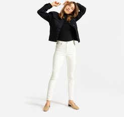 High-Rise Skinny Jean by Everlane in Bone, Size 25