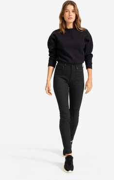 High-Rise Skinny Jean by Everlane in Black, Size 33